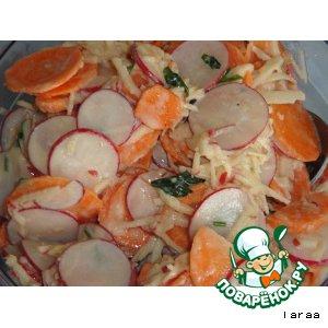 Рецепт: Морковный салат с тахином
