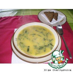 Рецепт: Луковый суп (Sopa de alho Frances)