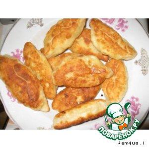 Рецепт Пирожки жареные (вариант)