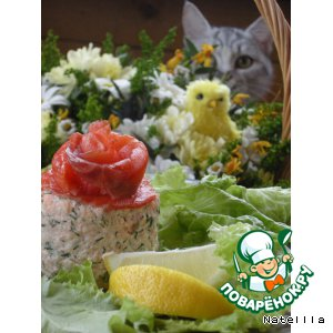 Рецепт: Тиан с лососем