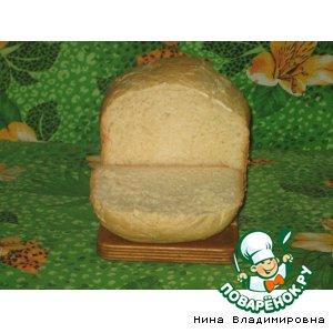 Рецепт: Хлеб с геркулесовой кашей