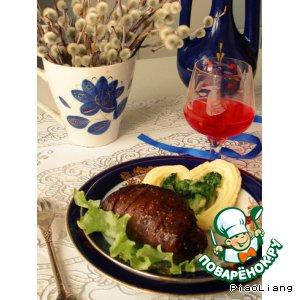 Рецепт: Ужин охотника из мяса дичи
