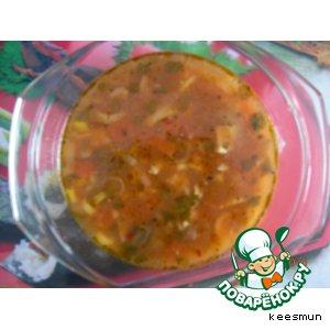 Рецепт: Тайский суп