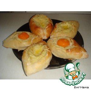 Рецепт: Картофельные лодочки От Маруси