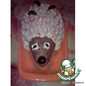 "Рецепт: Торт ""Ежик"""