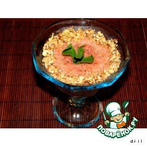 Рецепт: Японский фруктовый мусс