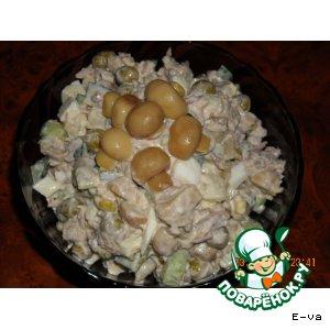 Рецепт: Салат Сосновый бор