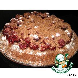 Рецепт: Торт Шоко-вишня