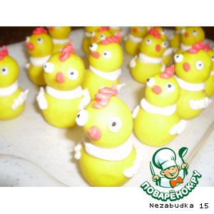 Рецепт Пасхальные цыплята