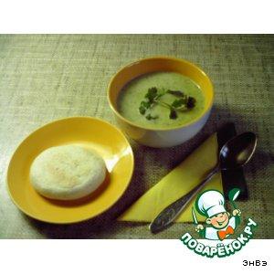 Рецепт: Суп-пюре из лука-порея