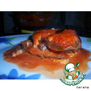Рецепт: Баклажаны алла Пармиджана