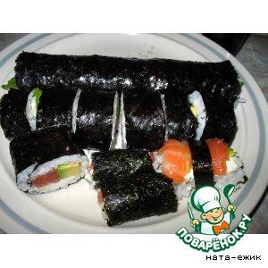 Рецепт: Суши - роллы