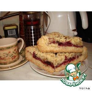Рецепт: Тертый пирог