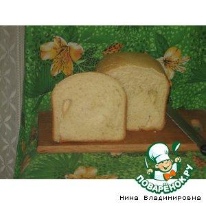 Рецепт: Хлеб горчичный на молоке