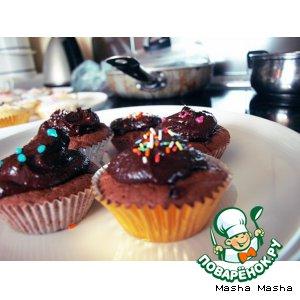 Шоколадные cupcakes – кулинарный рецепт