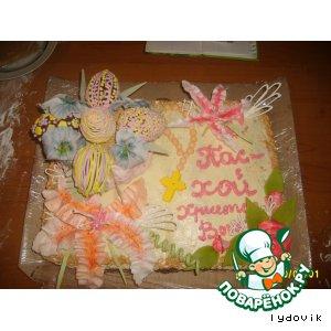 Рецепт: Тортик на Пасху