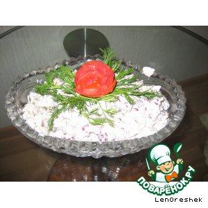 """Рецепт: Салат """"Псковитянка"""""""