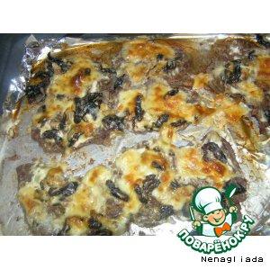 Рецепт: Говядина с черносливом