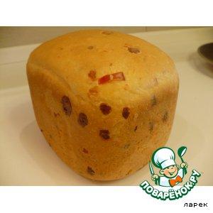 Рецепт: Хлеб с перцем чили и сыром