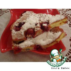 Рецепт: Французский десерт Клафути