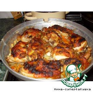 Рецепт: Рагу с курицей для ленивых