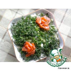 Рецепт: Салат Очень вкусная селедка