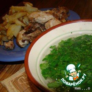 Рецепт: Нудель – немецкий суп-лапша