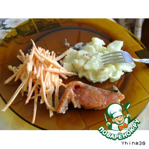 Рецепт Просто жареная картошка в сметане
