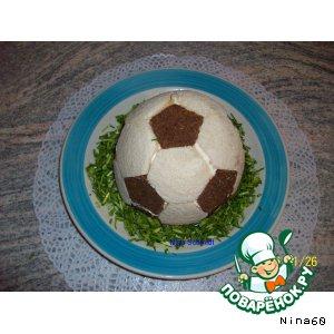 """Рецепт: Салат """"Футбол"""""""