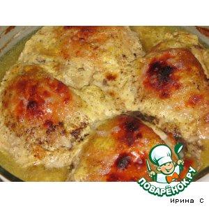 Рецепт: Курица в йогурте
