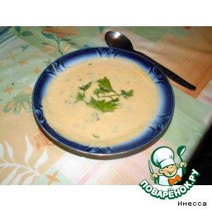 Рецепт: Суп-пюре из корня сельдерея