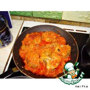 Рецепт: Рыба под соусом