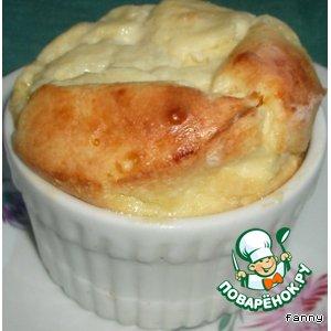 Рецепт: Сырное суфле
