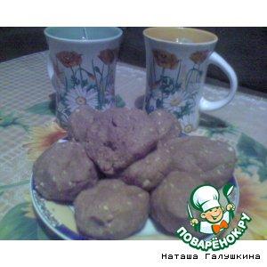 """Рецепт: Пирожное """"Картошка"""""""