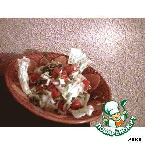 Рецепт: Салат с клюквой