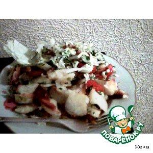 Рецепт: Картошечка с перцем