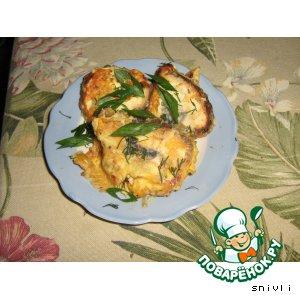 Рецепт: Рулетики из курицы