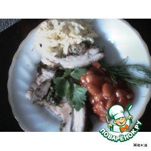 Рецепт: Свинина маринованная
