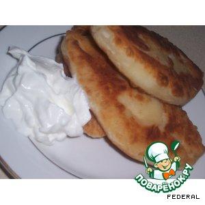 Рецепт: Пирожки плоские