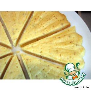 Рецепт: Песочное печенье Треугольнички