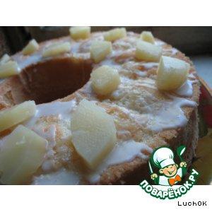 Рецепт: Кекс с ананасами