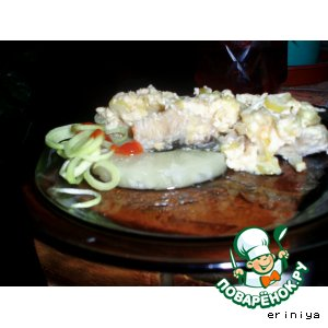 Рецепт: Рыба в сырных крошках