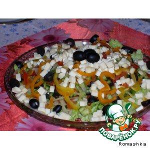 "Рецепт: Салат ""Греческий"""
