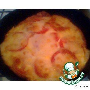 Рецепт: Пицца для двоих