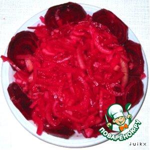 Рецепт: Маринованный лук к шашлыку