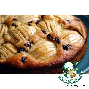Рецепт: Немецкий яблочный пирог