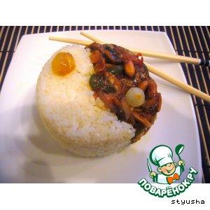Рецепт: Рис с овощами по-китайски