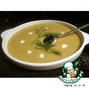 Рецепт: Кукурузный крем-суп