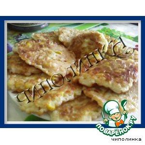 Рецепт: Оладушки с сыром