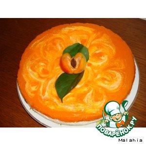 Рецепт Творожник с абрикосовым пюре